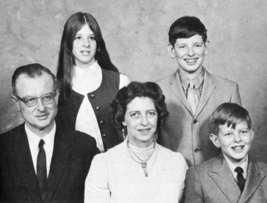 John list with his family, photos with disturbing backstories