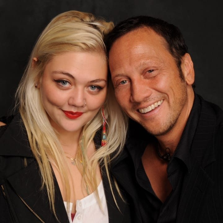 Rob Schneider and Elle King